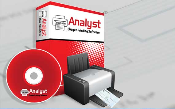 Analyst Cheque Printing Software